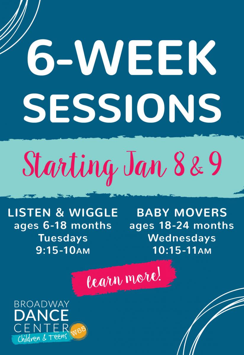 6 week sessions sidebar ad