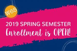 2019 Spring Semester Enrollment
